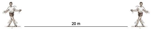 Desplazamiento lateral cruzando piernas